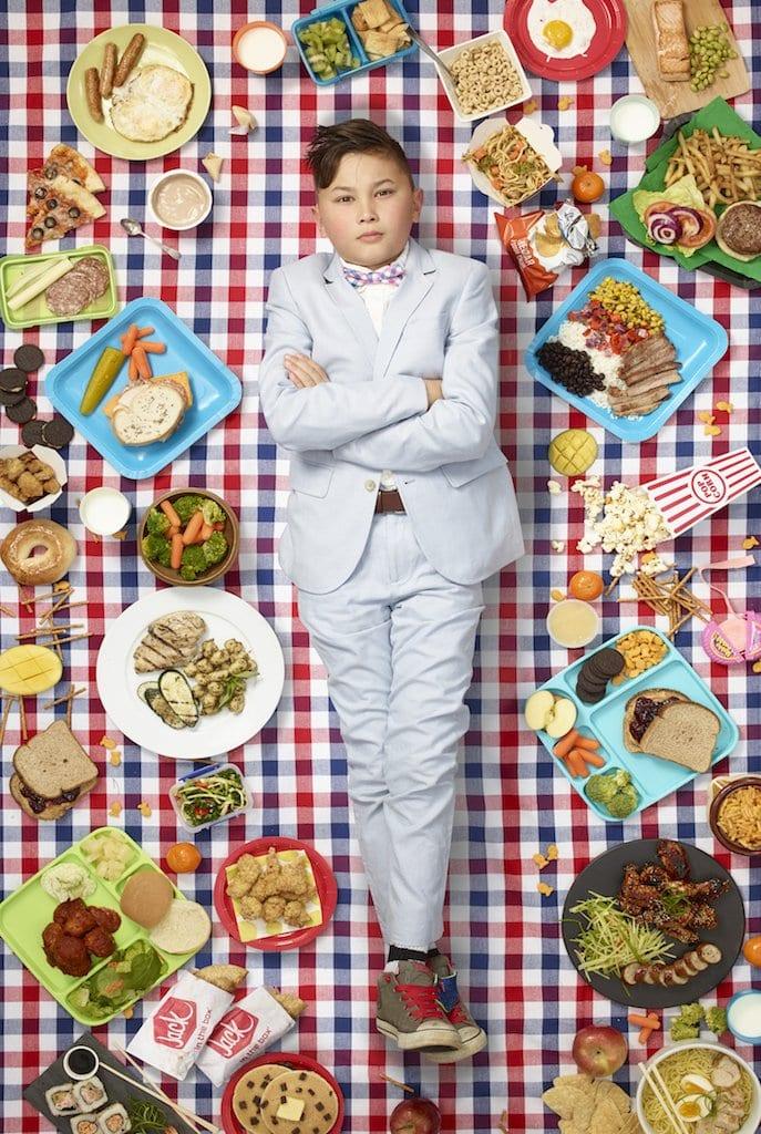 Cooper Norman, 10 jaar, Calif ©Gregg Segal