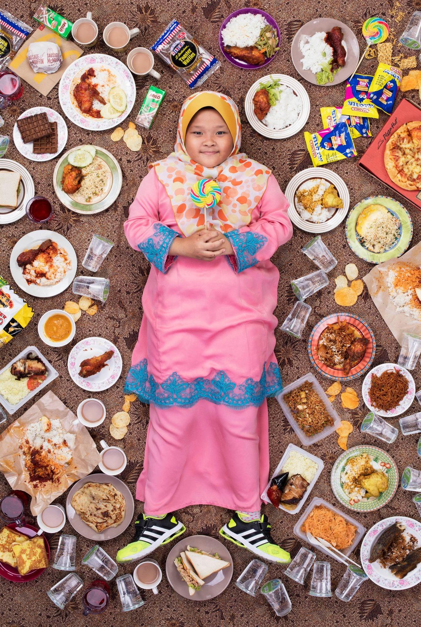 Siti Qhalisha, Kuala Lumpur, 2017 © Gregg Segal