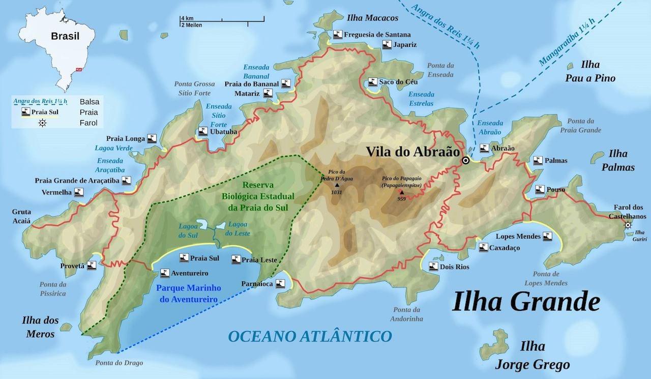 doen op Ilha Grande